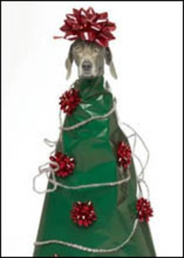 William Wegman Weimaraner Tree Topper - single card 4 - £1.70