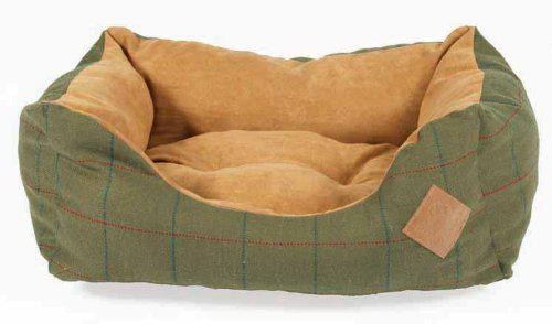 Green Tweed Snuggle Bed (Square)  4 - £28.00