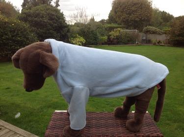 Dog Fleece jumper - Baby Blue - BUY ONE GET ONE HALF PRICE 4 - £19.99