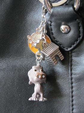 Arora Little Paws Weimaraner Keyring or bag charm 2 - £6.50