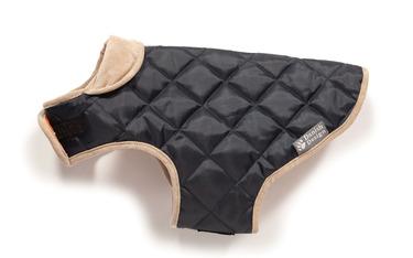 Danish Design Quilted Dog Coat Navy/Green 2 - £25.00
