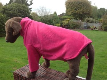 Dog Fleece jumper - Cherise - BUY ONE GET ONE HALF PRICE - ANY COMBINATION 4 - £19.99