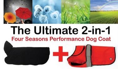 Danish Design 2-in-1 Coat Four Seasons Performance Dog Coat 8 - £29.99