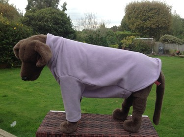 Dog Fleece jumper - Lilac - BUY ONE GET ONE HALF PRICE - ANY COMBINATION 4 - £19.99