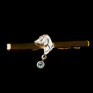 Tie Clip Small - Sterling Silver (Please allow 28 days) 8 - £54.99