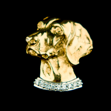 Stone Set Badge Brooch  (Please allow 28 days) 4 - £215.00