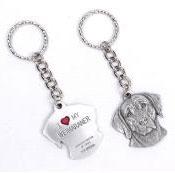 Weimaraner Key Chain (Pewter) 3 - £9.99