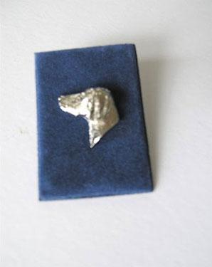 Weimaraner Head Clutch Pin 2 - £5.20