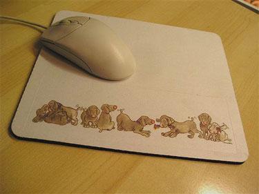 Mouse Mat - Penhaligon Puppies 2 - £7.99