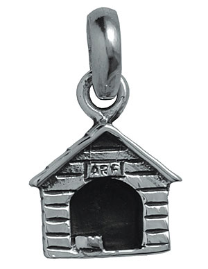 Silver Dog Kennel Charm 1 - £55.00