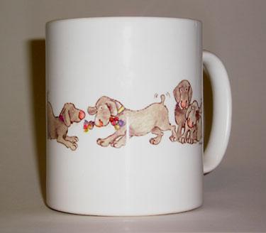 Mug - Penhaligon Puppies 1 - £6.00