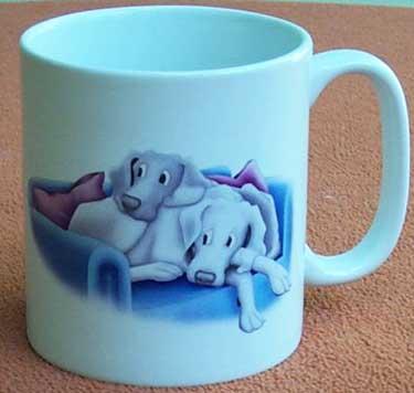 Weimaraner Characature Mug 4 - £8.50