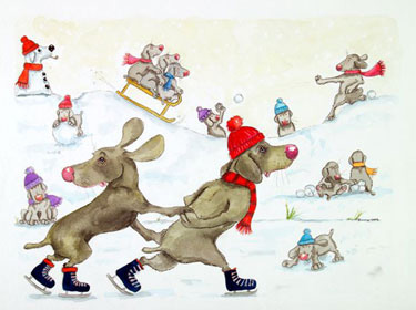 Snow Dogs 4 - £12.50