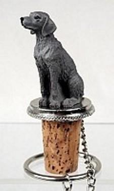 Weimaraner Dog Hand Painted Resin Figurine Wine Bottle Stopper 3 - £6.00