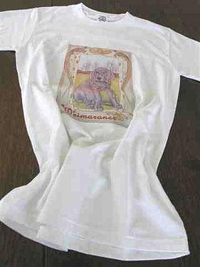 CL15 Pipsqueak Weimaraner T Shirt 1 - £8.00