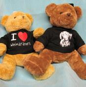 Weimaraner T-shirt Teddy Bear 2 - £18.00