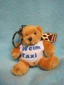 Cuddly Teddy Keyring - Weim Taxi 1 - £3.00