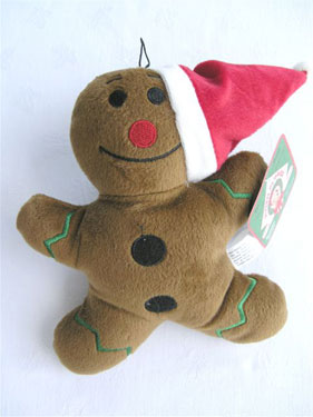Plush Puppies Gingerbread Man (only one left) 6 - £6.00