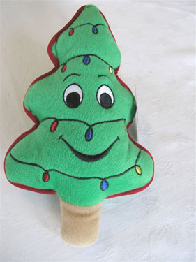 Plush Puppies Musical Christmas Tree Toy 1 - £5.25