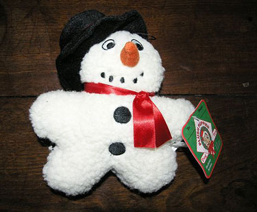 Plush Puppies Fleecy Snowman Toy 2 - £6.00