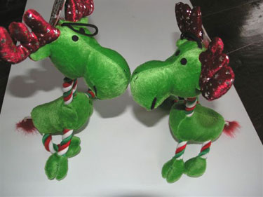 Christmas Dog Toy - Reindeer 4 - £10.50