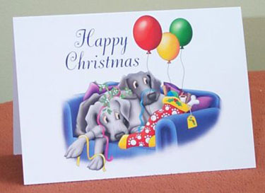 Christmas Cuddles - Single card OUT OF STOCK 1 - £1.70